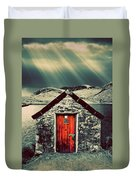 The Boathouse Duvet Cover by Meirion Matthias