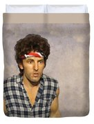 The Boss Duvet Cover by David Dehner