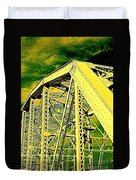 The Bridge To The Skies Duvet Cover