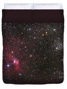 The Bubble Nebula Duvet Cover