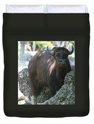 The Bull Moose Duvet Cover