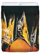 The Cabinet Of Dr Caligari Duvet Cover
