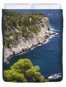 The Calanques Duvet Cover