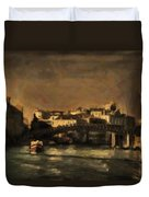 The Canal Venice Duvet Cover