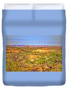 The Canyon In The Distance Duvet Cover