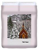 The Chapel Duvet Cover