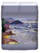 The Choppy Sea Duvet Cover by Henri-Edmond Cross