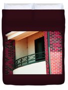 The Church Balcony Duvet Cover