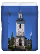 The Church Of Kuopio Duvet Cover
