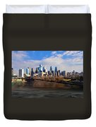 The City Of Brotherly Love Duvet Cover