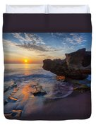 The Cliffs Of Florida Duvet Cover
