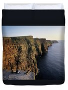 The Cliffs Of Moher, County Clare Duvet Cover