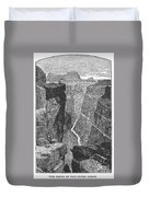 The Colorado River Duvet Cover