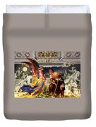 The Colored Angel Duvet Cover