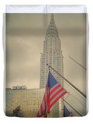 The Colors Flying In New York Duvet Cover