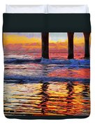 The Colours Of Dawn  Duvet Cover