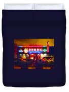 The Colours Of Singapore Nights Duvet Cover