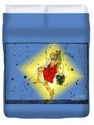 The Constellation Perseus Duvet Cover