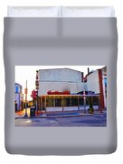 The Continental Diner Duvet Cover by Bill Cannon