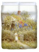 The Cottage Gate Duvet Cover