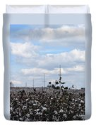 The Cotton Crops Of Limestone County Alabama Duvet Cover