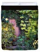The Courtyard Garden, Fairfield Lodge Duvet Cover