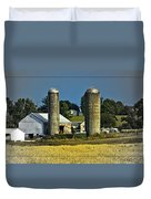 The Cows Have Come Home Duvet Cover by DigiArt Diaries by Vicky B Fuller
