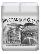 The Cradle Of The Gop Duvet Cover