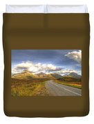 The Cuillin Mountains Of Skye Duvet Cover