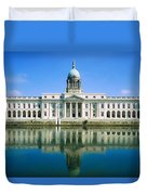 The Custom House, River Liffey, Dublin Duvet Cover