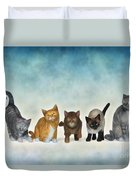 The Cute Ones Duvet Cover