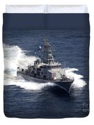 The Cyclone-class Coastal Patrol Ship Duvet Cover