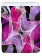 The Dancing Princesses Abstract Duvet Cover