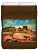 The Desert And The Sky Duvet Cover