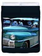 The Desoto Duvet Cover