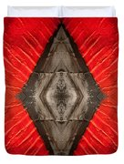 The Diamond Of Courage Duvet Cover
