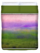 The Distant Hills Duvet Cover