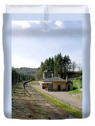 The Disused Alton Towers Railway Station Duvet Cover