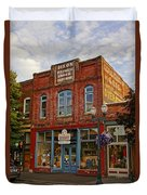 The Dixon Building In Grants Pass Duvet Cover