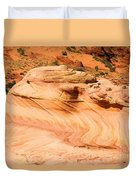The Dragon At The Wave Duvet Cover