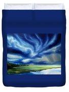 The Dragon Storm Duvet Cover