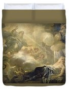 The Dream Of Solomon Duvet Cover