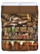 The Dymaxion House Dearborn Mi Duvet Cover