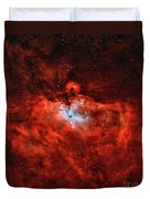 The Eagle Nebula In The Constellation Duvet Cover