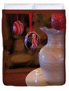 The Easter Egg Tree Duvet Cover