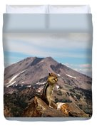 The Edge Of Glory Duvet Cover