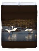 The Egrets Duvet Cover