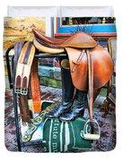 The English Saddle Duvet Cover