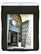 The Entranceway To Unilever House  Duvet Cover