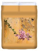 The Escaping Bougainvillea Duvet Cover